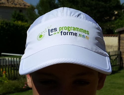 Nouveau : la casquette des Programmes de la Forme !